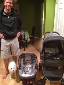 New Car Seat and Stroller!